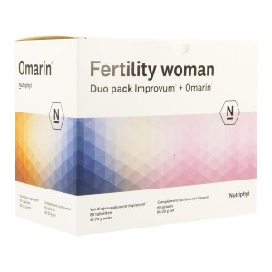 Fertility woman duo Nutriphyt 60+60c