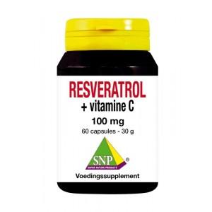 resveratrol + vit c 100mg SNP