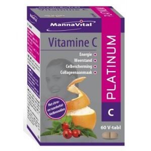 Vitamine C platinum Mannavital 60tab