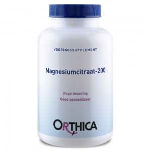 Magnesiumcitraat 200 Orthica