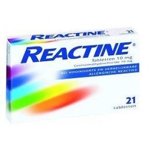 Anti histaminicum Reactine