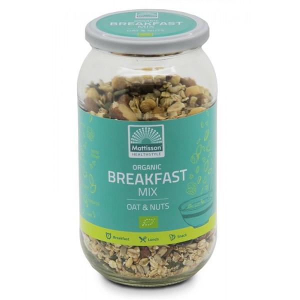 Organic breakfast mix oat & nuts