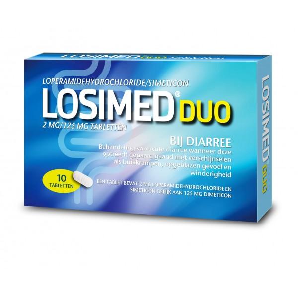 Losimed duo 2 mg / 125 mg Losimed 10tb
