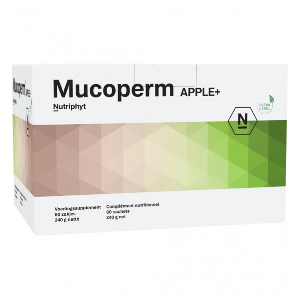 Mucoperm apple+ Nutriphyt 60zk