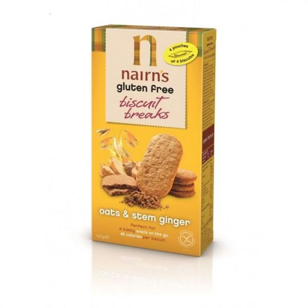 Biscuit breaks ginger