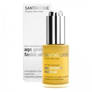 Aloe vera age protect facial oil