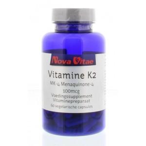 Vitamine K2 100 mcg menaquinon