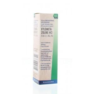 Xylometazoline 0.5 mg spray