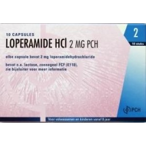 Loperamide HCL 2 mg