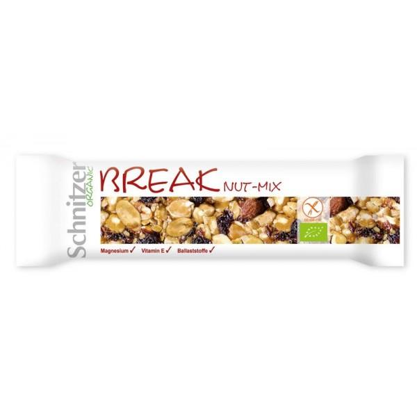 Break nut-mix honing
