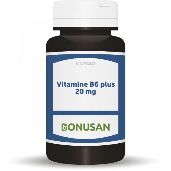 Bonusan Vitamine b6 plus 20mg 60cap