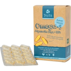 Testa omega3 algenol dha 250mg Testa 60ca