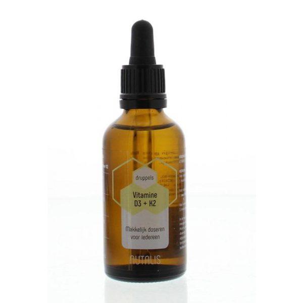 Vitamine D3 & K2 druppels nutalis