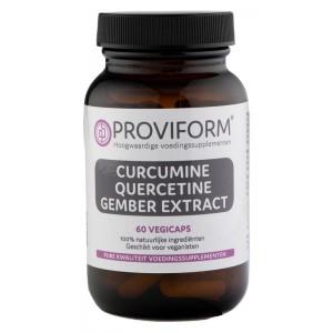 Curcumine quercetine gember extract