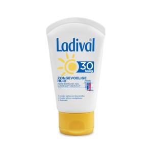 Zongevoelige huid gel gezicht SPF30
