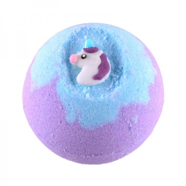 Bath ball unicorn