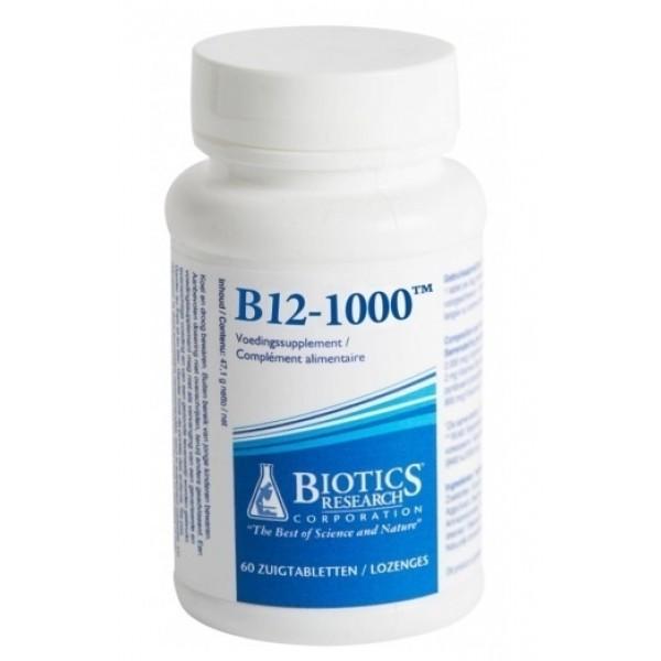 Vit b12 2000mcg Biotics 60tb
