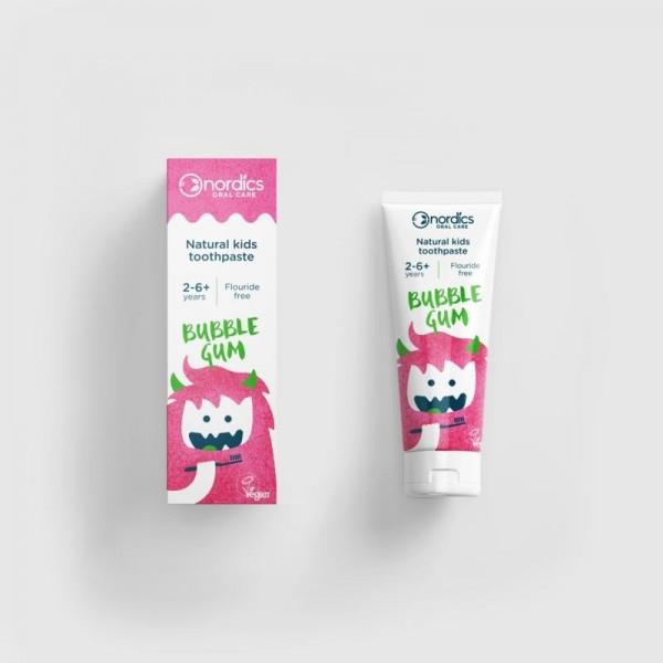 Tandpasta vegan kind bubble gum