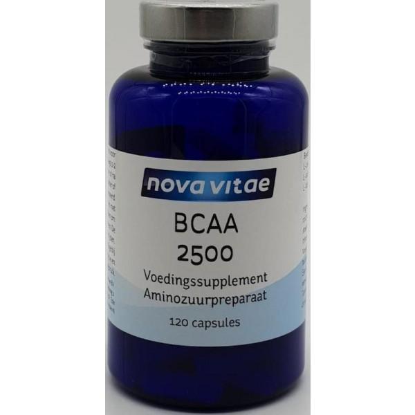 BCAA 2500 2:1:1 Nova Vitae 120ca