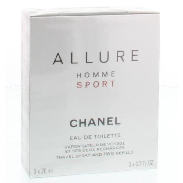 Allure sport giftset 3 x 20 ml