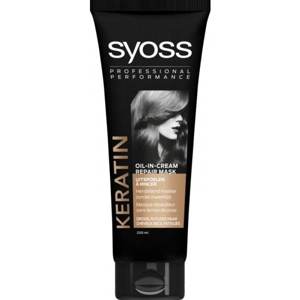 Keratin oil-in cream haarmasker
