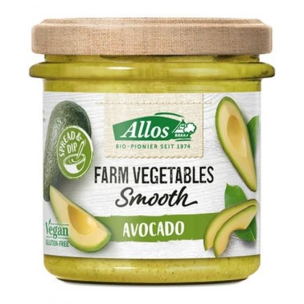 Farm vegetables smooth avocado