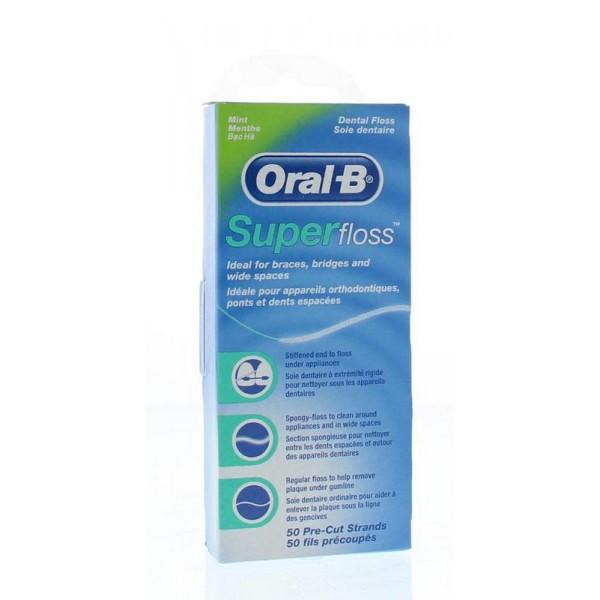 Floss super mint regular Oral B 50st