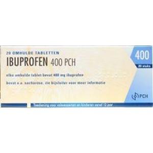 Ibuprofen 400 mg Teva 20tb