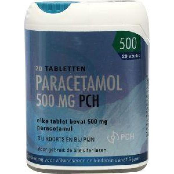 Paracetamol 500 mg click Pharmachemie 20tb