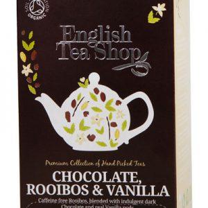 Rooibos chocolate & vanilla English Tea Shop 20bui