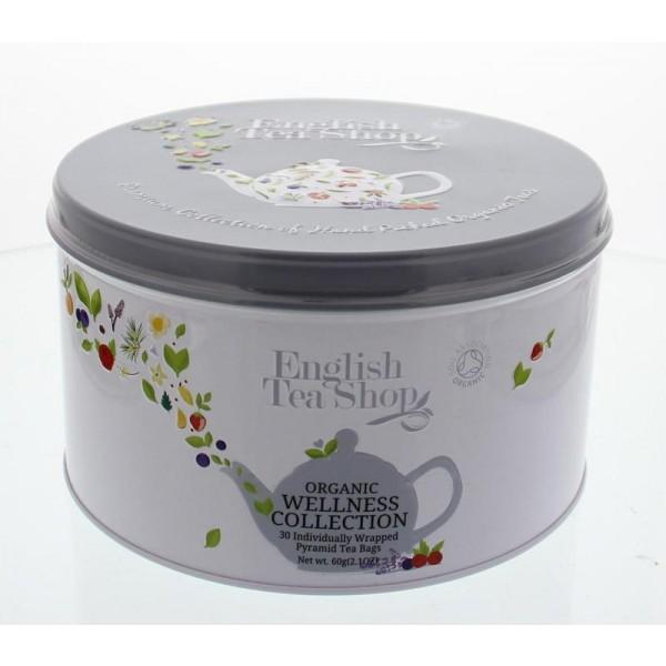 Cadeaublik wellness tea English Tea Shop 30st