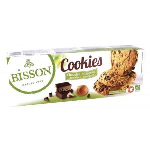 Cookies chocolade hazelnoot Bisson 200g