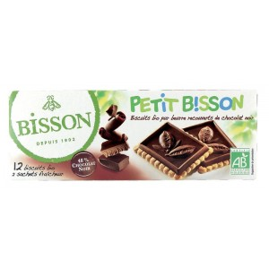 Theebiscuit pure chocolade Bisson 150g