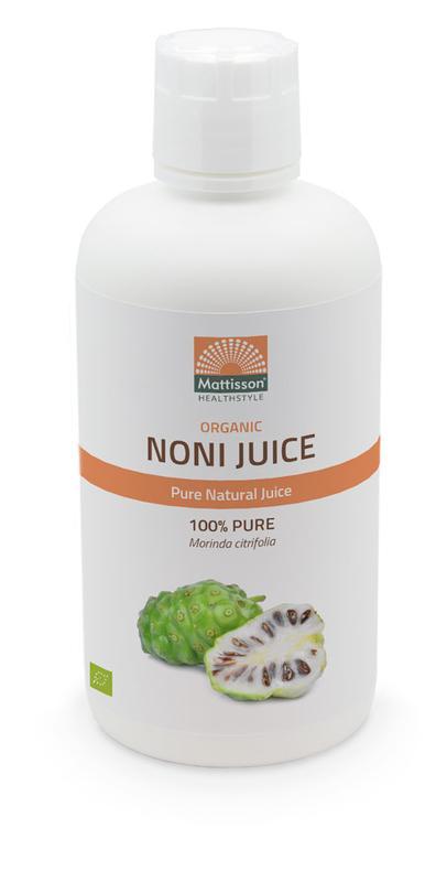 Noni Juice 100% pure morinda citrifolia bio Mattisson 946ml