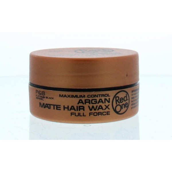Haarwax keratin matte Red One 150ml