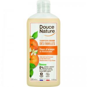 Douchegel & shampoo familie sinaasappel Douce Nature 250ml