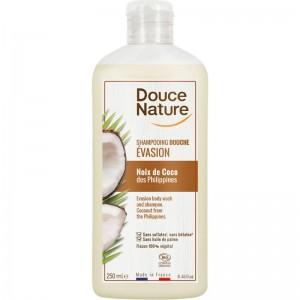 Douchegel kokos exotisch zacht Douce Nature 250ml