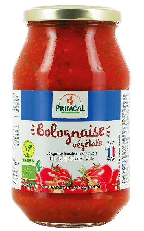 Bolognese tomatensaus vegetarisch Primeal 510g