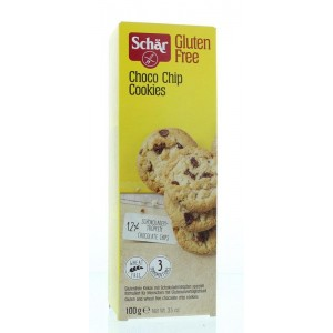 Choco chip cookies Dr Schar 100g