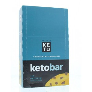 Reep chocolate chip cookiedough Go-Keto 12st