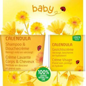 Calendula baby gezichtscreme voordeelset Weleda 1set