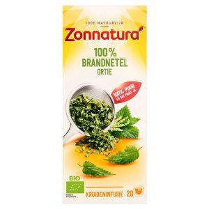 Brandnetel thee 100% bio Zonnatura 20st