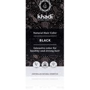 Haarkleur black Khadi 100g