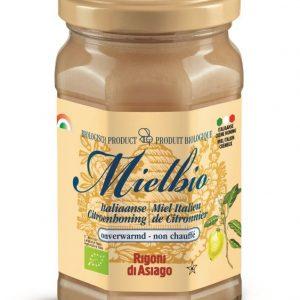 Citroen creme honing Mielbio 300g