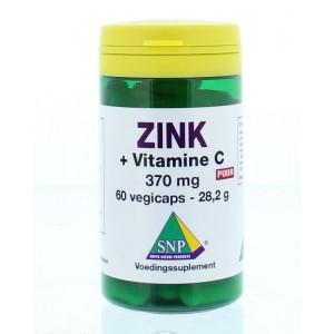 Zink 50mg + gebufferde vitamine C puur SNP
