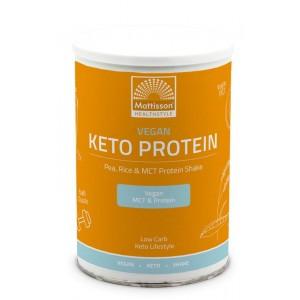 Vegan Keto protein shake - pea, rice & MCT Mattisson 350g