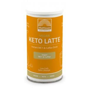 Vegan keto latte instant MCT & coffee drink Mattisson 200g