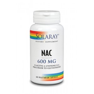 N Acetyl l-cysteine 600 mg Solaray 60vc