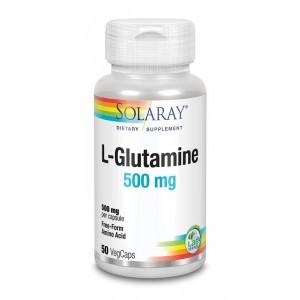 L-Glutamine 500 mg Solaray 50vc