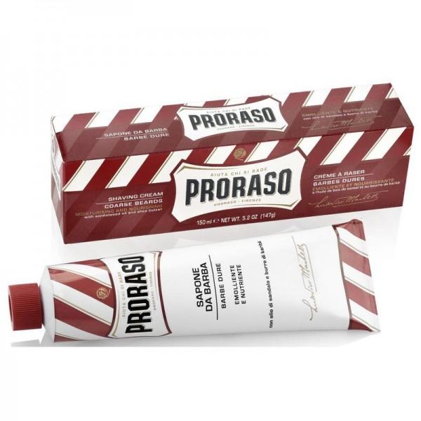 Scheercreme Sandlewood / Sheabutter Proraso 150ml
